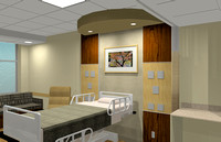 patient room headwall