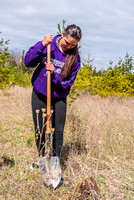 Arbor Day Earth Week Tree Planting Mink River by Len Villano