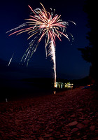 Little Sister Bay Fireworks by Katie Sikora (07/03)