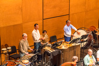 PMF Rehearsal and Percussion by Len Villano