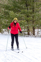 Cross Country Skiing by Len Villano