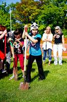 Skateboard Park Groundbreaking by Len Villano